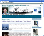 Kangen Water Alkaline Water